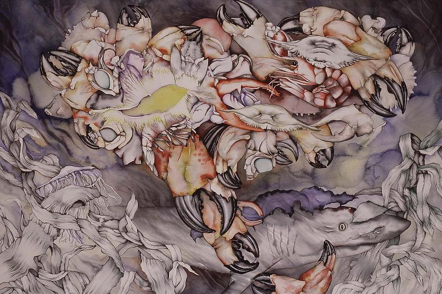 Sea Painting - Just Dreaming by Liduine Bekman