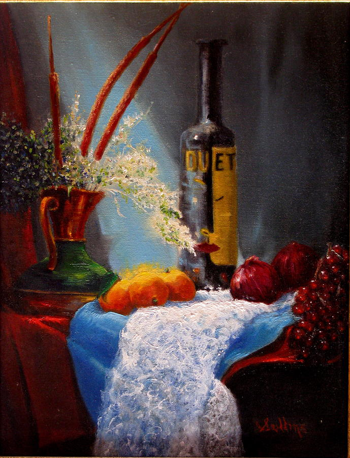 Still Life Painting - Just Duet by David Sullins