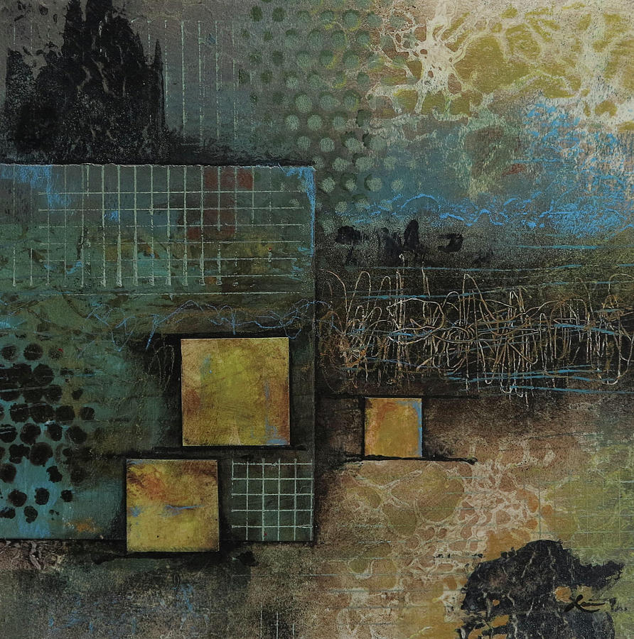 Collage Mixed Media - Just Embrace It  by Laura Lein-Svencner