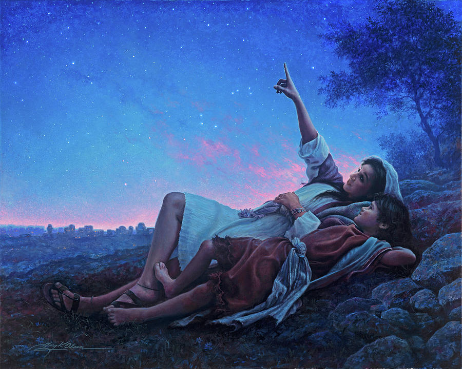 Just for a Moment Painting by Greg Olsen