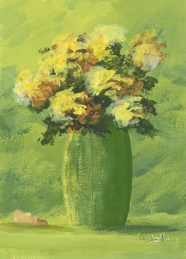 Lime Painting - Just For You by Shelley Zwingli
