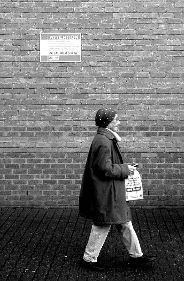 Photographer Photograph - Just Going Nowhere by Jez C Self