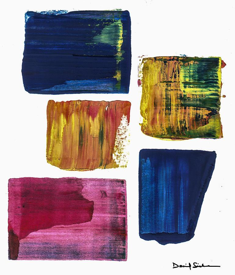 Abstract Painting - Just Look by Dan Sisken