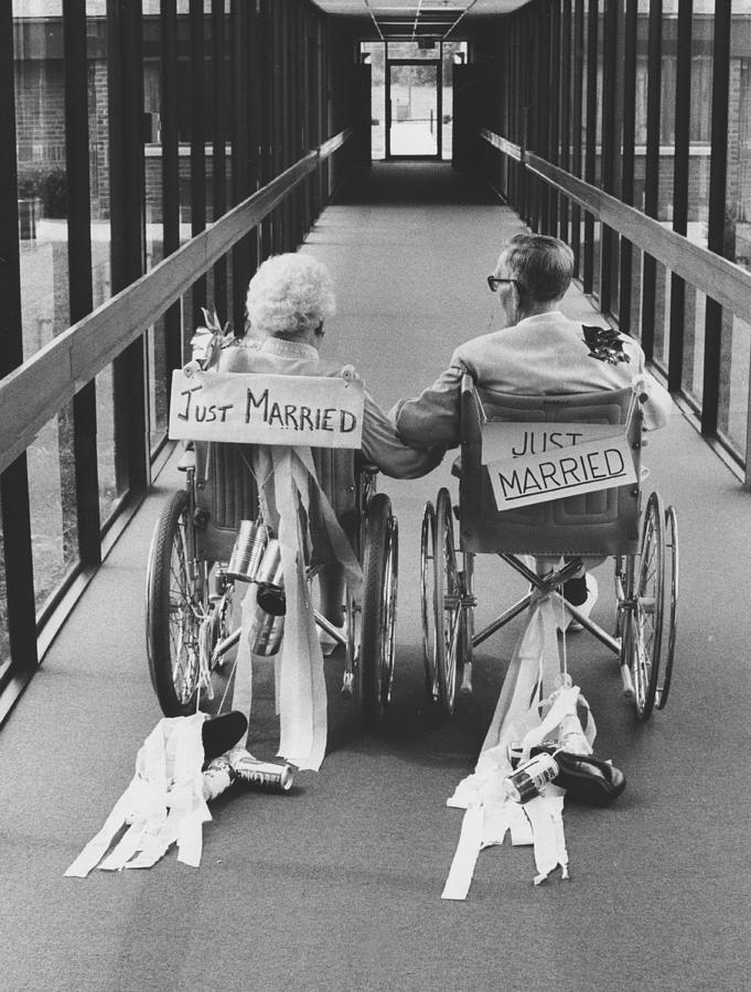 Married Photograph - Just married by Jim Wright