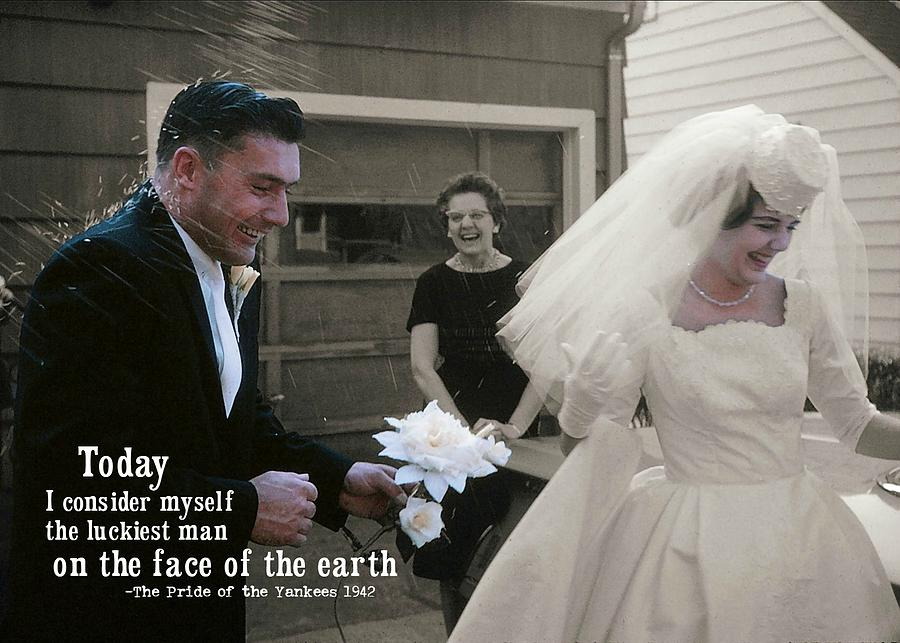 Marriage Photograph - Just Married Today Quote by JAMART Photography