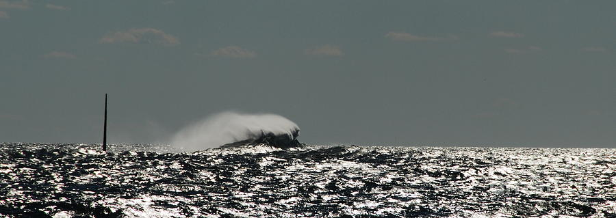 Wave Photograph - Just Motion by Chad Natti