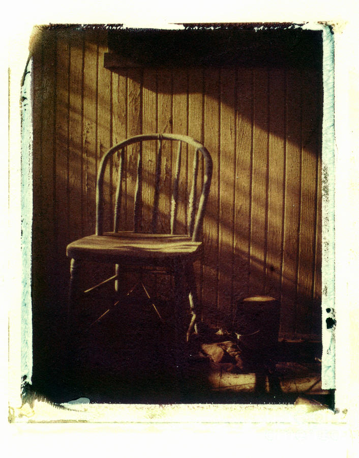 Chair Photograph - Just Stepped Out For Sugar by Steven  Godfrey