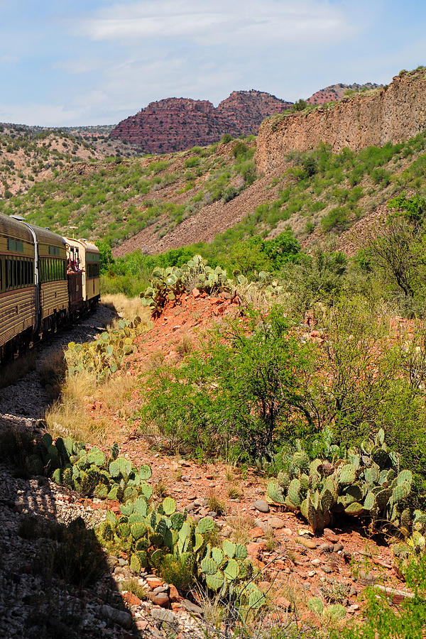 Verde Canyon Railroad Photograph - Just The Beginning by Kate Livingston