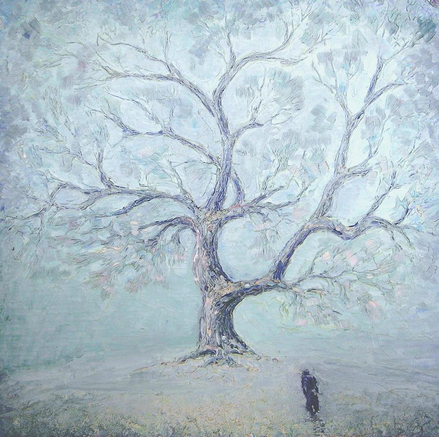 Impressionism Painting - Just The Winter Has Come... 1987 by Ivan KRUTOYAROV