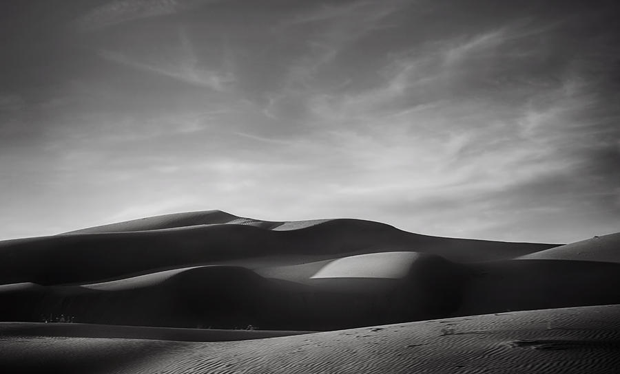 Imperial Sand Dunes Photograph - Just Tryin To Find Some Peace by Laurie Search