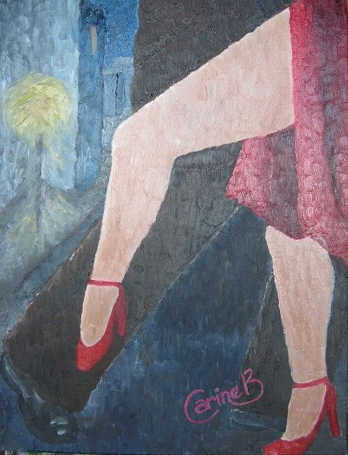 Just Us Two Painting by Carine Badenhorst-Fourie