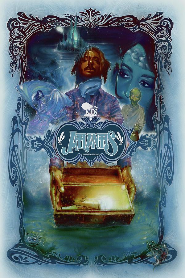 K-os Atlantis Painting - K-os Atlantis Hymns For Disco by Nelson Garcia