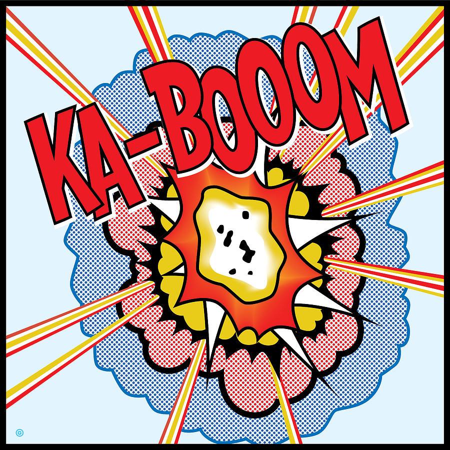 Ka booom Painting by Gary Grayson : ka booom gary grayson from fineartamerica.com size 899 x 900 jpeg 314kB