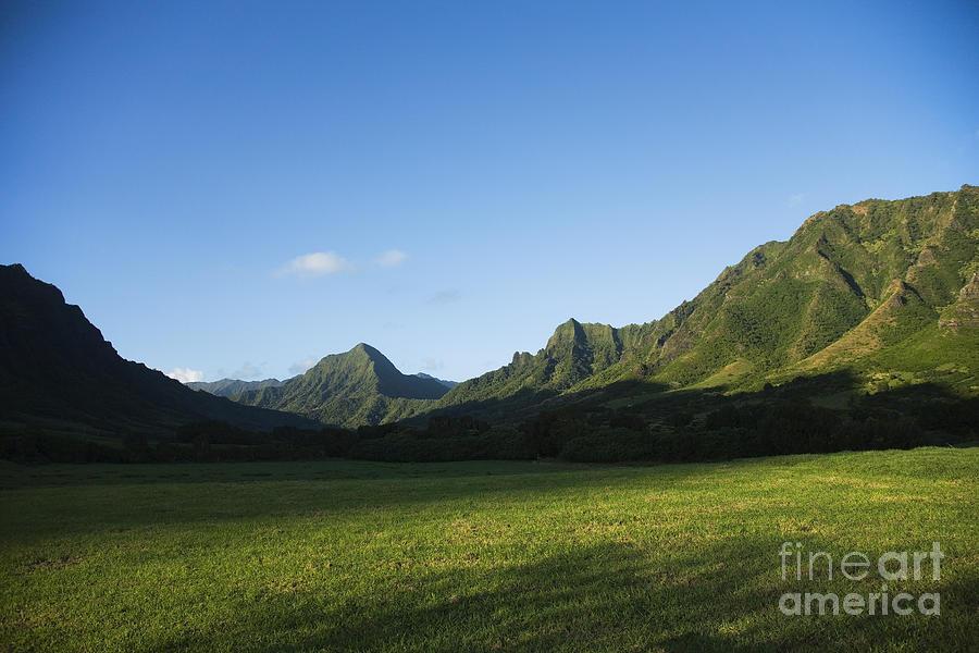 Bright Photograph - Kaaawa Valley by Dana Edmunds - Printscapes