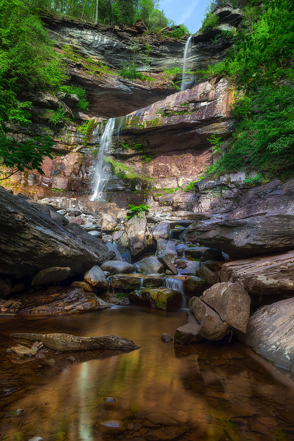 Kaaterskill Falls Photograph - Kaaterskill Falls by Mark Papke