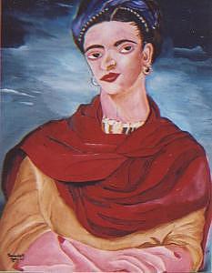 Kahlo Frida Painting by Patrick Desenclos