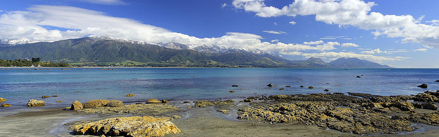 Kaikoura Panorama by Peter Kennett
