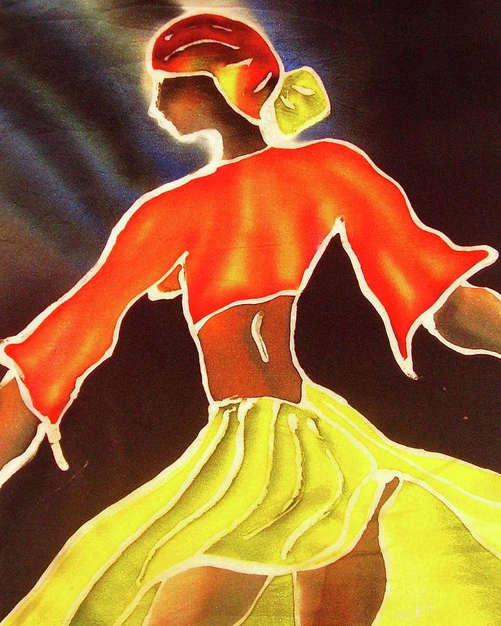 Black Woman Painting - Kala by Tiff