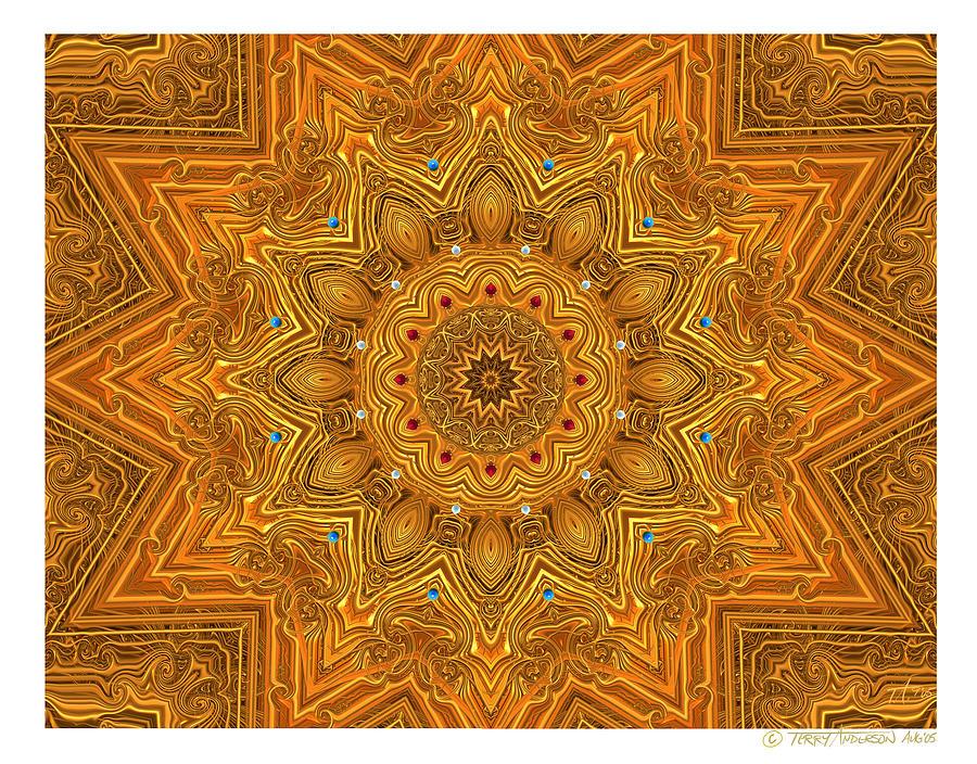 kaleido Prf10 X7x 17b Digital Art by Terry Anderson