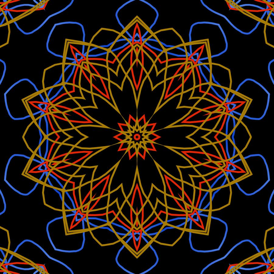 Kaleidoscope 605 Digital Art