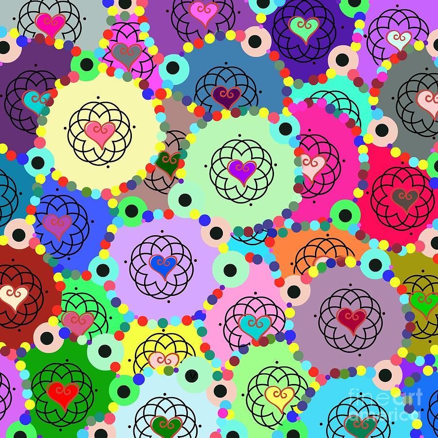 Kaleidoscope by Diamante Lavendar