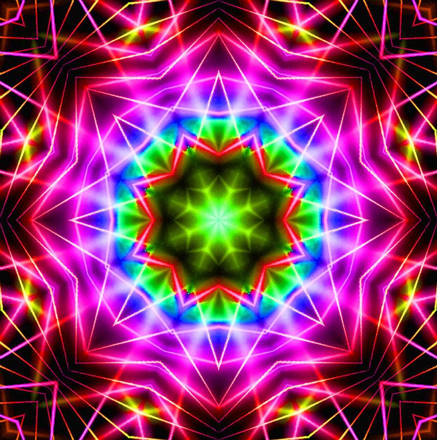 Kaleidoscope Ca: Kaleidoscope I Digital Art By Kenneth Krolikowski