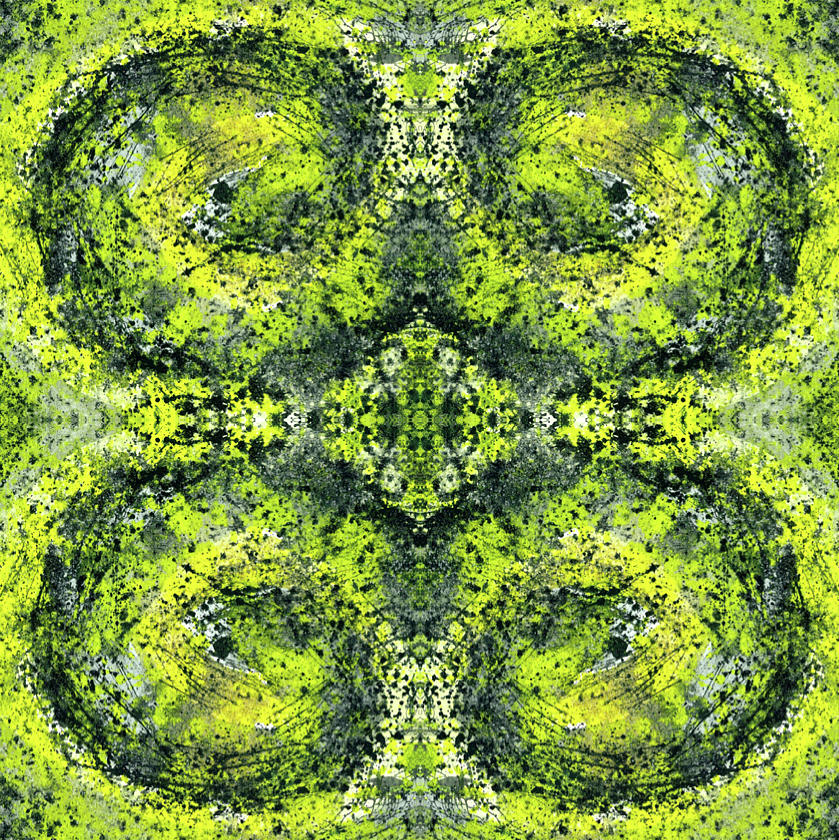 Abstract Mixed Media - Kaleidoscope Mandalas #1112 by Rainbow Artist Orlando L