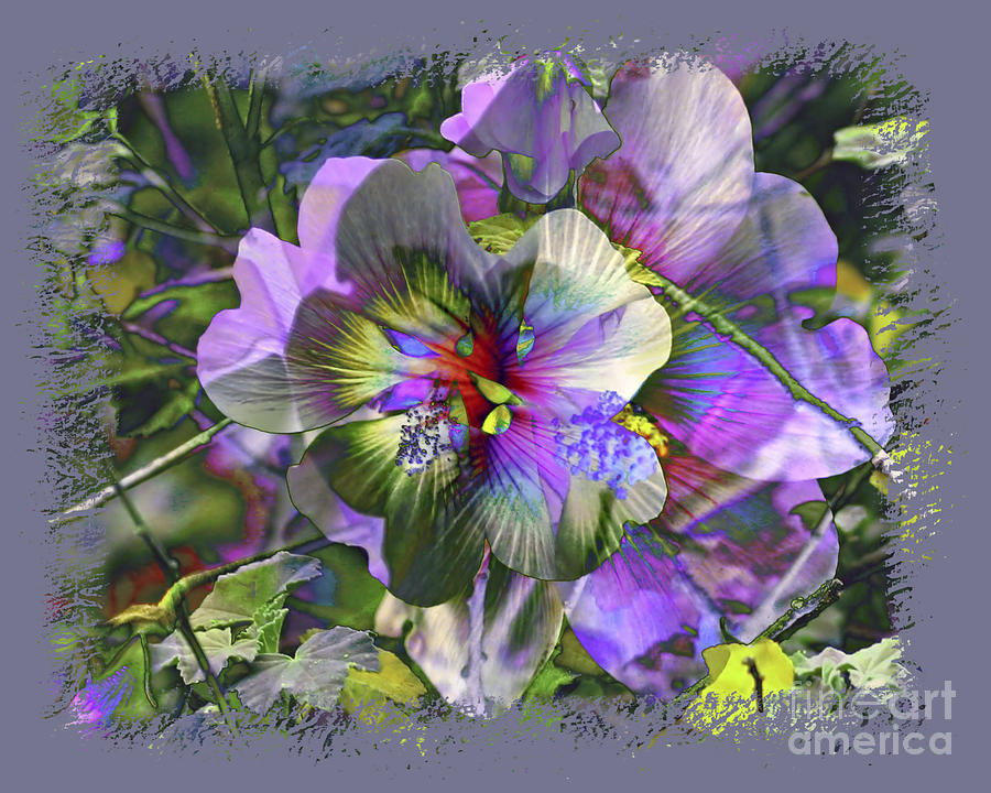 Flower Photograph - Kaleidoscope Pollen by Chuck Brittenham