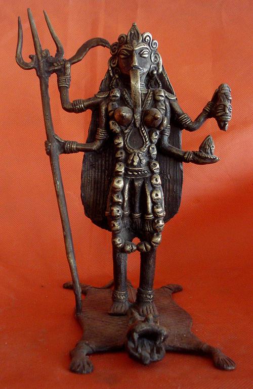 Sculpture Sculpture - Kali by lamboder Sagar