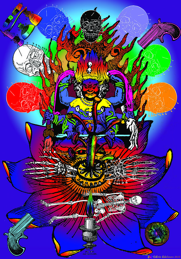 Eastern Digital Art - Kali Yuga by Eric Edelman
