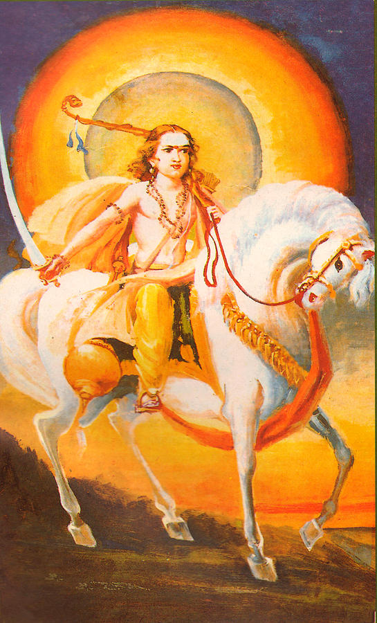 Kalki Avatar Hindu Vadic Artwork