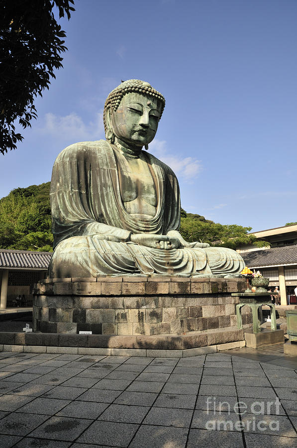 Kamakura Photograph - Kamakura Buddha by Andy Smy