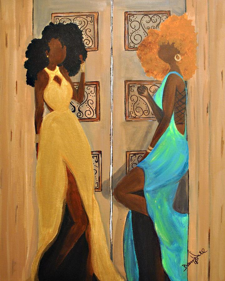 Black Women Photograph - Kamera Ready by Diamin Nicole