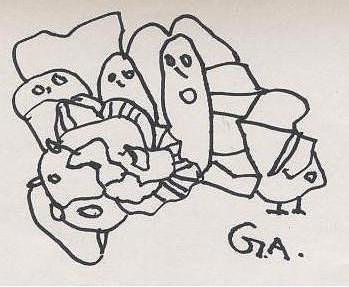 Kamra Drawing by Gaurav Agrawal