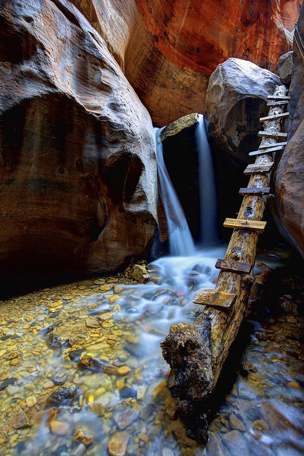 Utah Photograph - Kanarra by Chad Dutson
