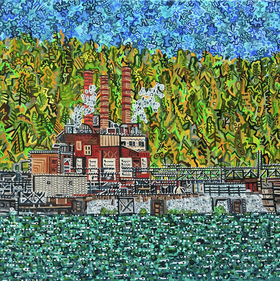 Kanawha River Painting - Kanawha River by Micah Mullen