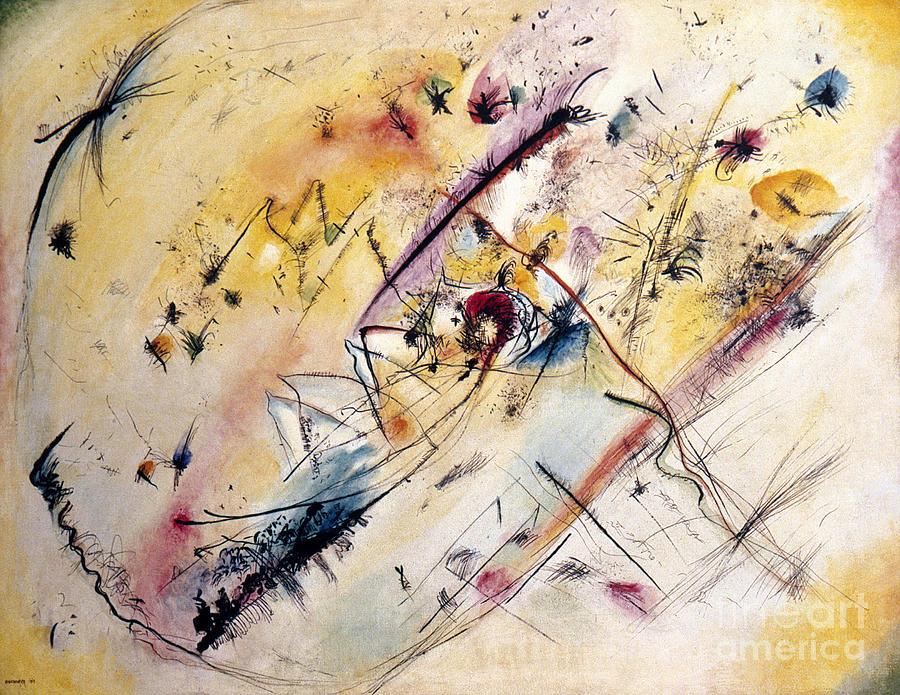 Abstract Photograph - Kandinsky: Light, 1913 by Granger