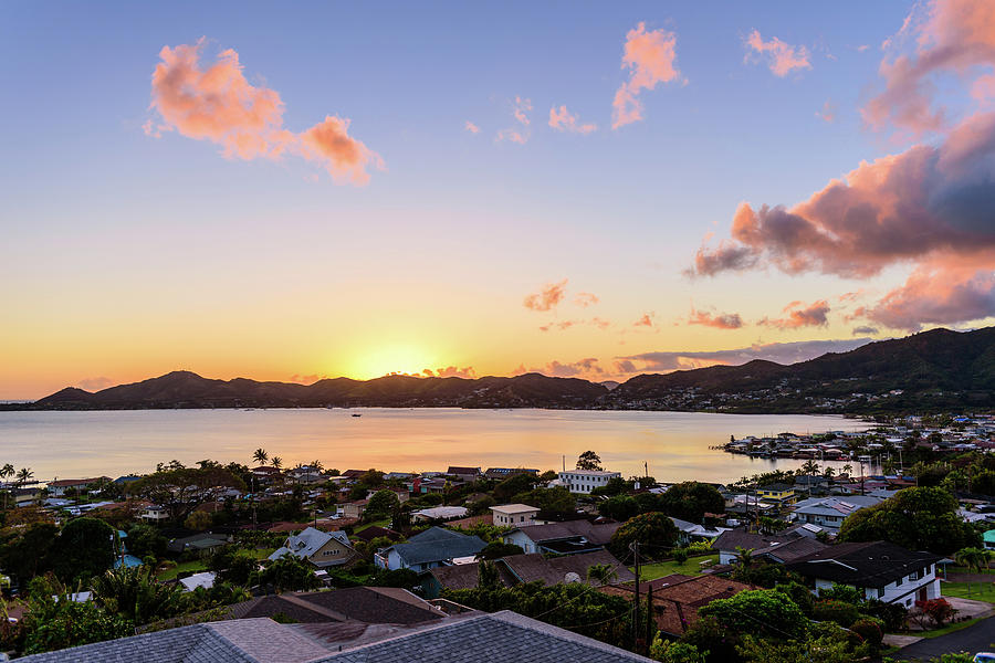 Kaneohe Bay Sunrise 1 by Jason Chu