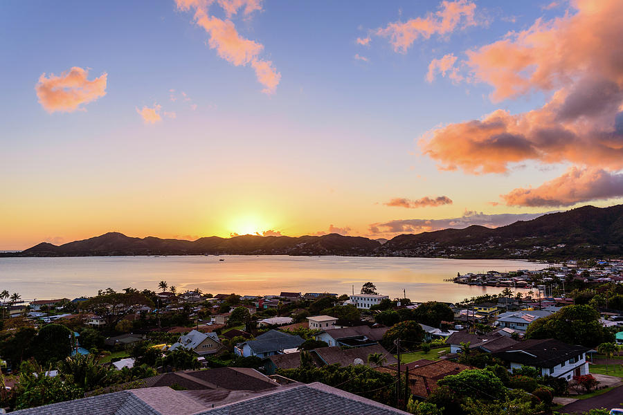 Kaneohe Bay Sunrise 2 by Jason Chu