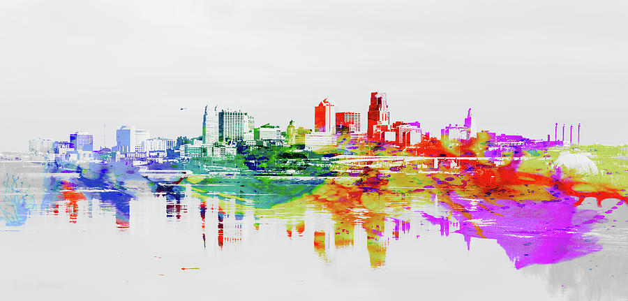 Kansas City Missouri Skyline Photograph