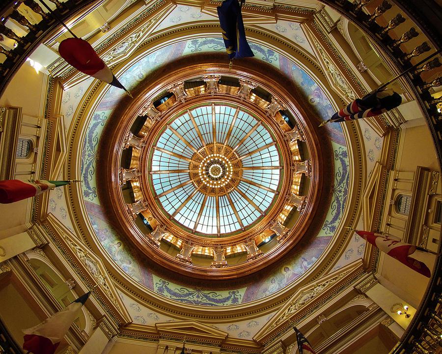 Kansas Photograph - Kansas Dome by Jim Mathis