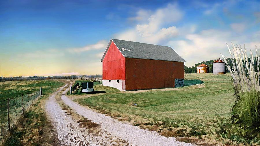 Kansas Landscape II Photograph