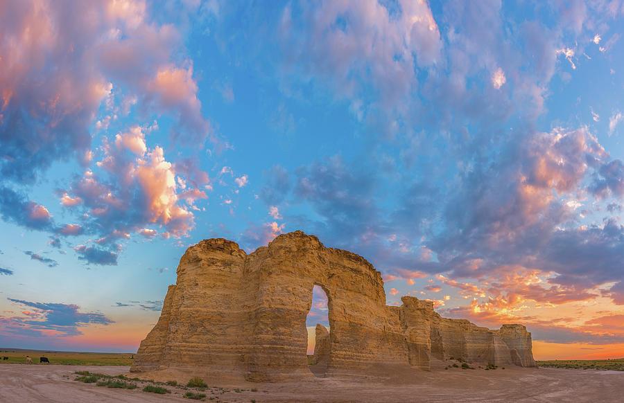Kansas Sunset Photograph