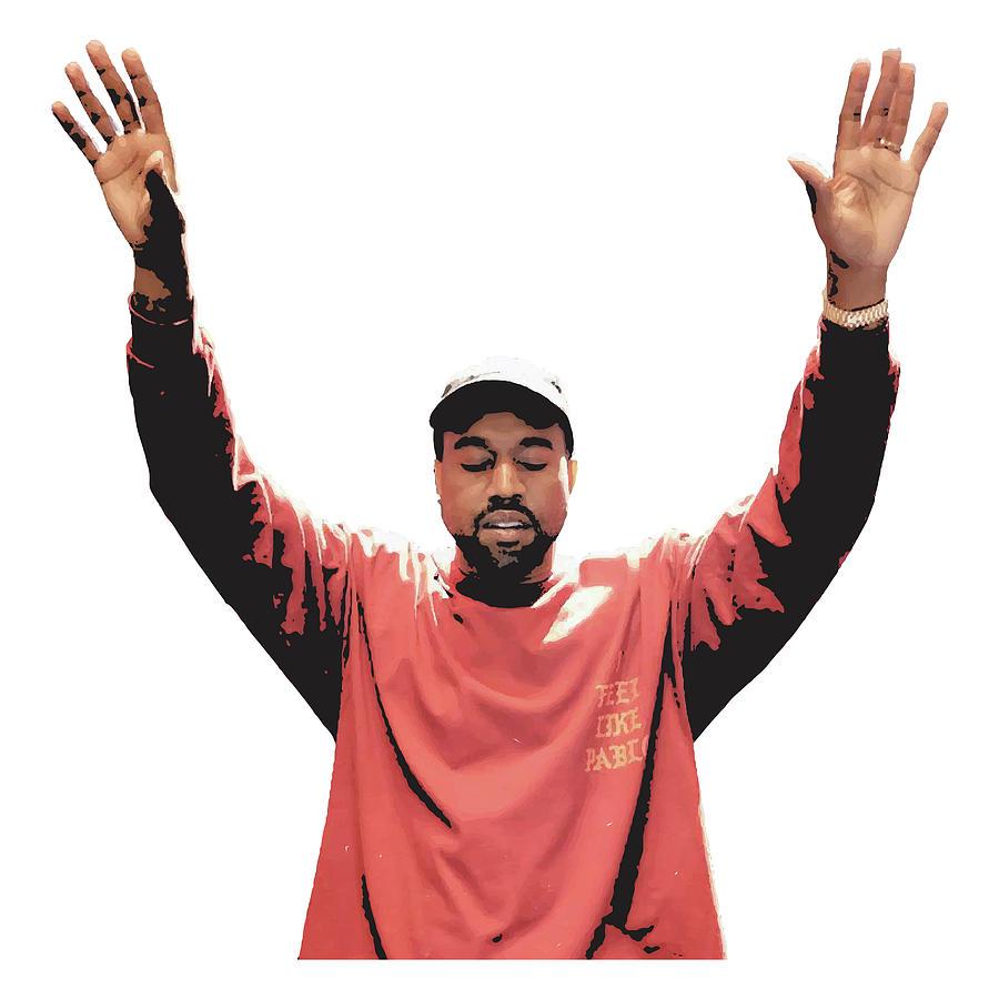 Kanye West Canvas Painting