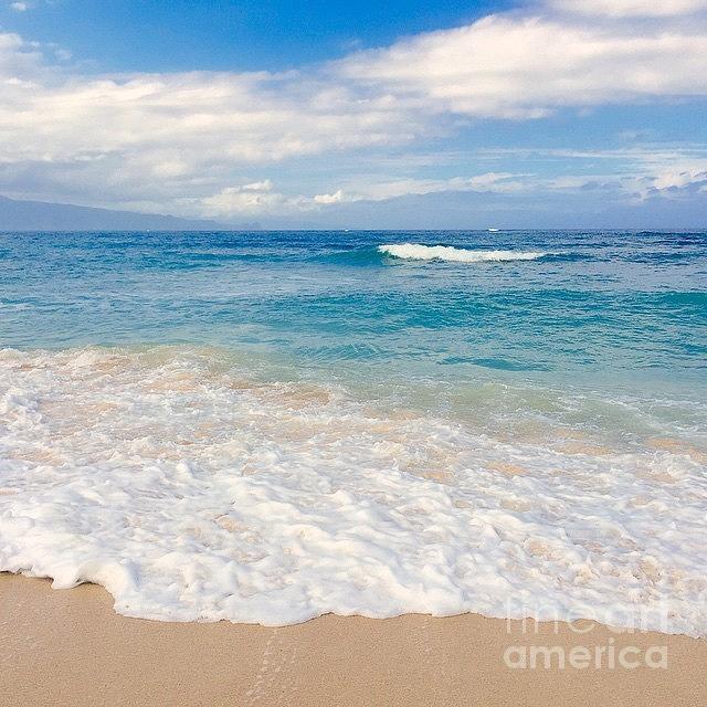 Northshore Photograph - Kapukaulua Beach Maui Hawaii by Sharon Mau