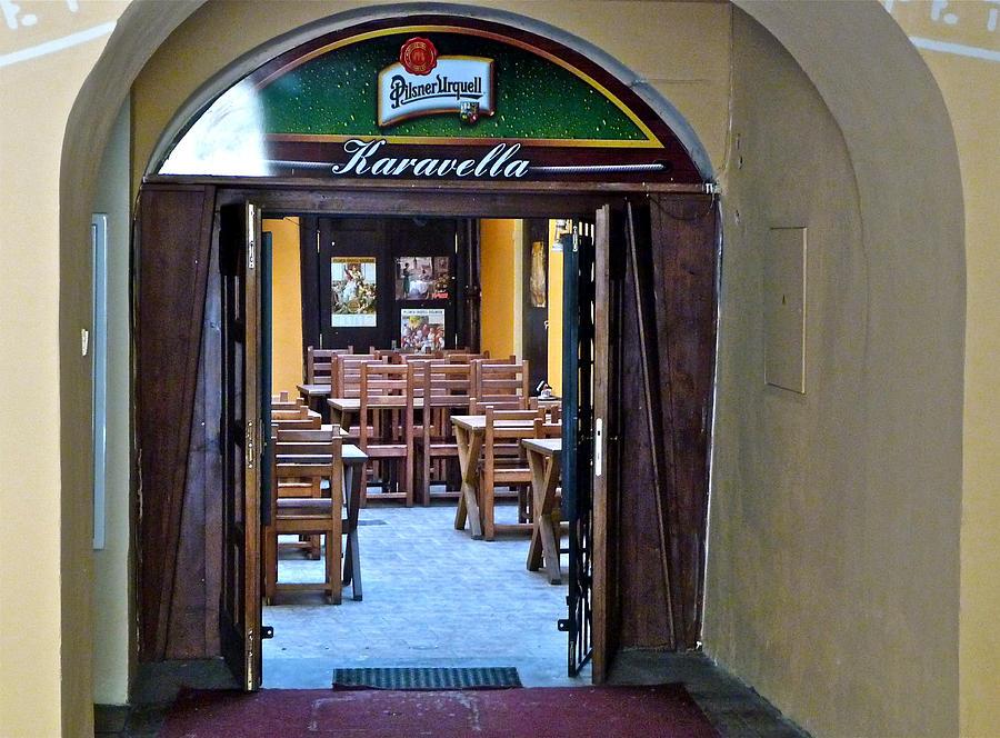 Tavern Photograph - Karavella by Ivan Tamas