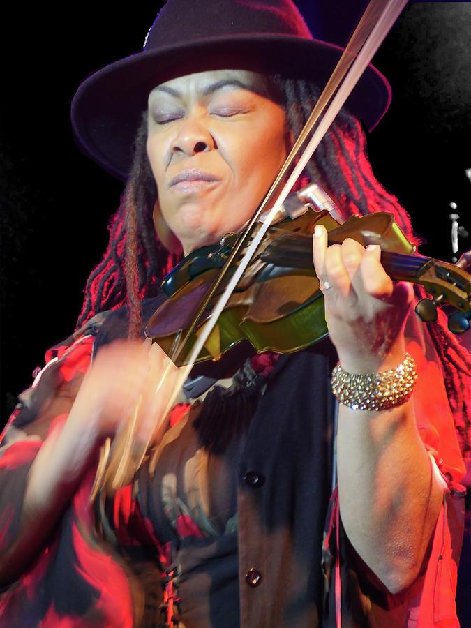 Karen Briggs 2017 Hub City Jazz Festival - in the moment by Leon DeVose
