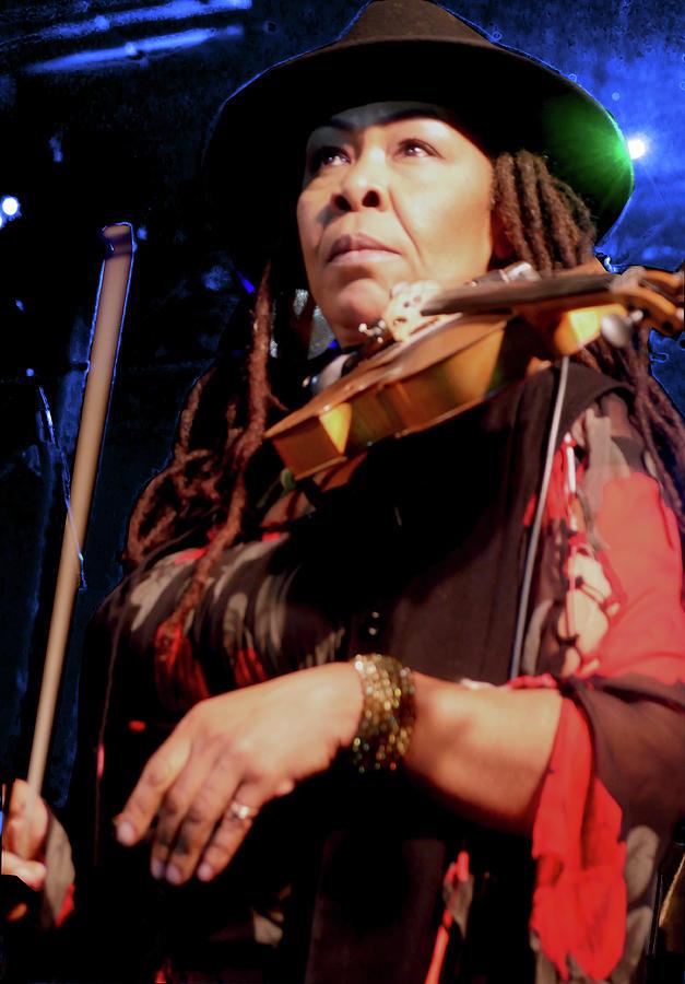 Karen Briggs 2017 Hub City Jazz Festival - pause by Leon deVose