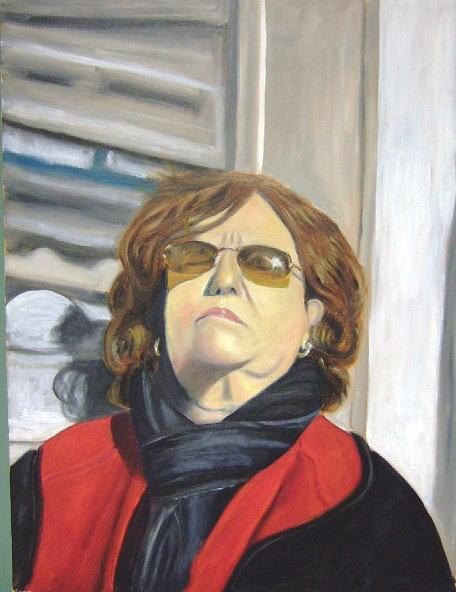 Karen Painting by Michael Henderson