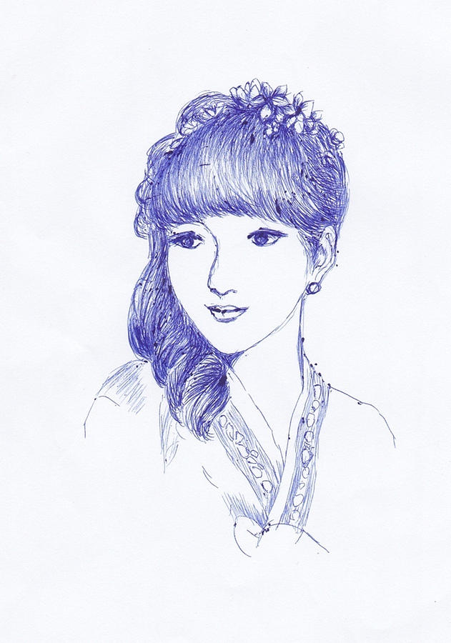 Karina Drawing by Susi Cahyani